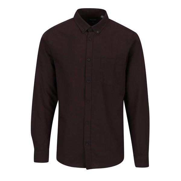 Camasa bordo slim fit cu guler buttons down - ONLY & SONS Alvaro
