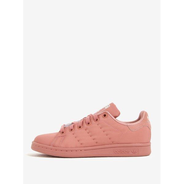 Pantofi sport roz pentru femei - adidas Originals Stan Smith