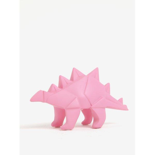 Lampă LED Disaster Dinosaur in formă de dinozaur roz