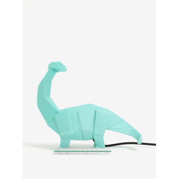 Lampă verde Disaster în formă de dinozaur