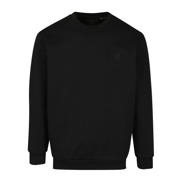 Bluza sport neagra cu logo brodat - JP 1880