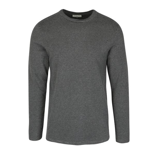 Bluza cu dungi fine gri - Selected Homme Ray