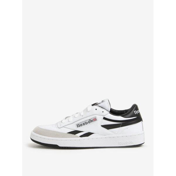Pantofi sport alb&negru din piele naturala pentru barbati - Reebok TRC
