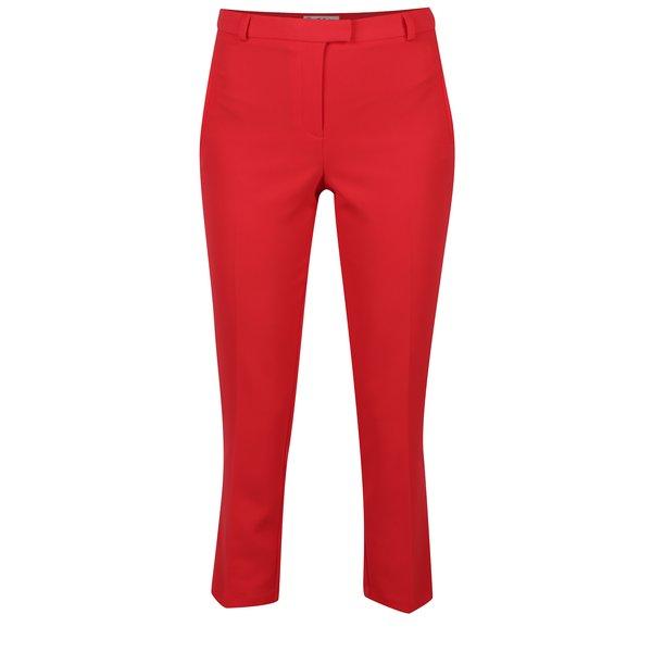 Pantaloni rosii cu buzunare false - Miss Selfridge