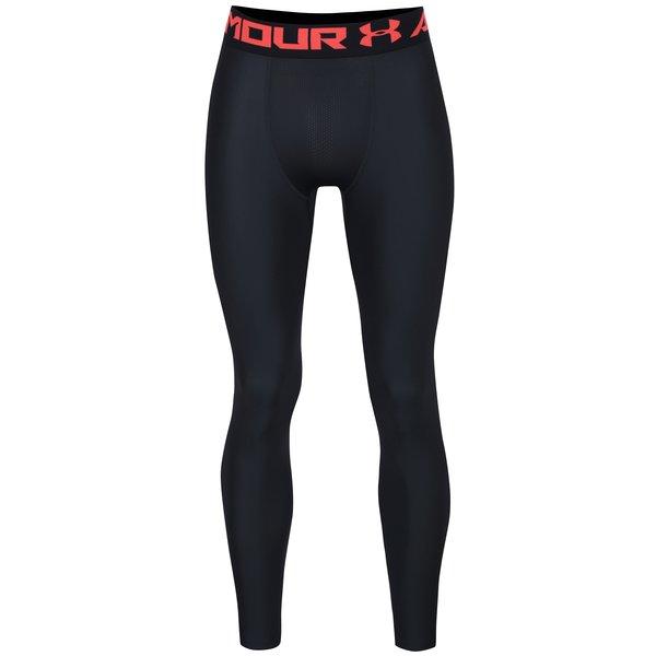 Leggings sport negru & rosu pentru barbati - Under Armour 2.0 Legging
