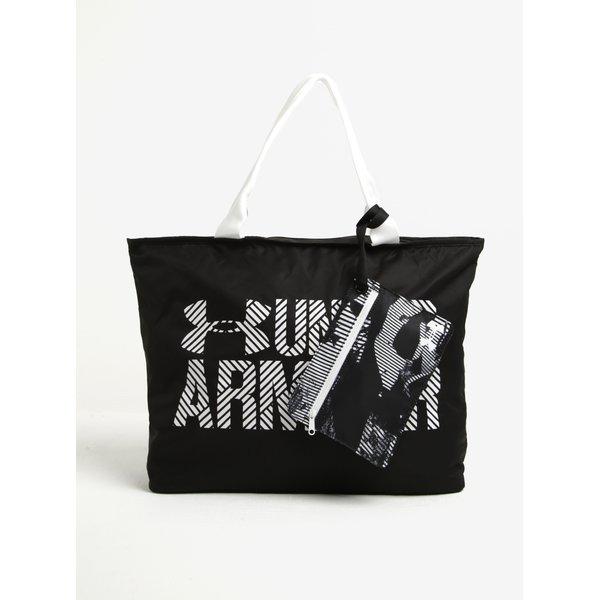 Geanta alb & negru cu accesoriu mic pentru femei - Under Armour
