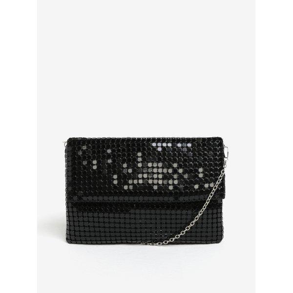 Geanta neagra din plasa de paiete metalice - MISSGUIDED