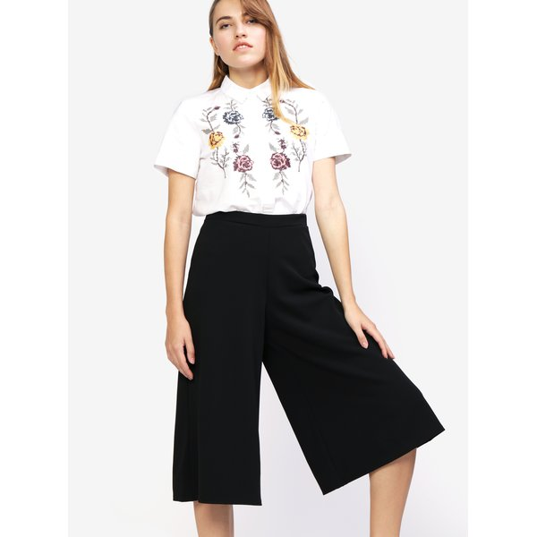 Pantaloni culottes negri - MISSGUIDED