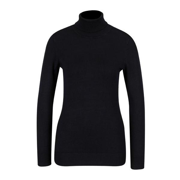 Bluza neagra cu guler inalt - Yest