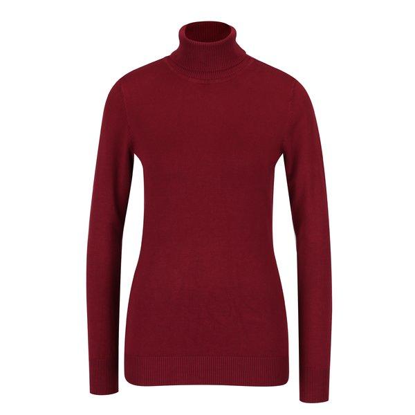 Bluza bordo cu guler inalt – Yest