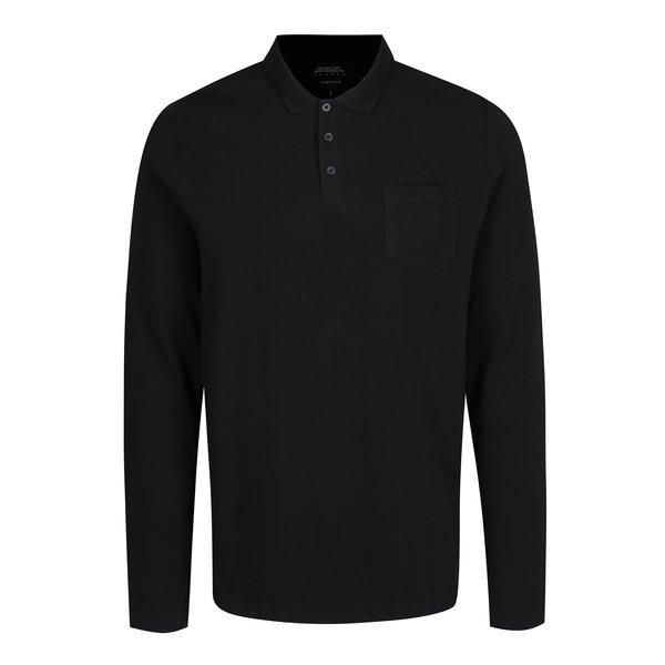 Bluza polo neagra - Burton Menswear London