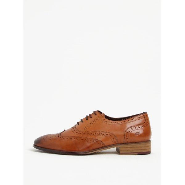 Pantofi brogue maro din piele naturala – London Brogues Wister Oxford