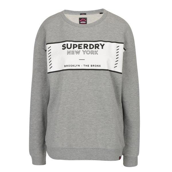 Imagine indisponibila pentru Bluza gri cu print pentru femei - Superdry Sport