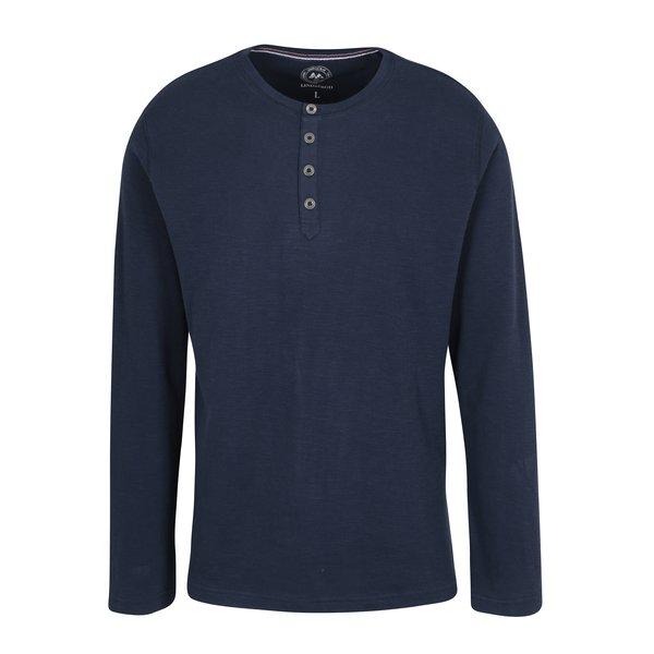 Bluza din bumbac albastru inchis pentru barbati - Lindbergh