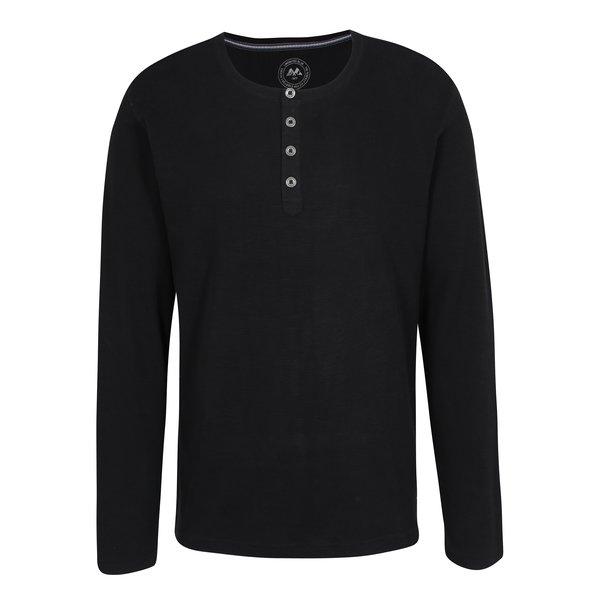 Bluza neagra cu nasturi Lindbergh