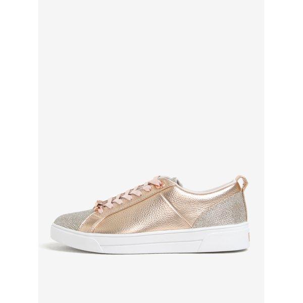 Pantofi sport roz auriu pentru femei - Ted Baker Kulei