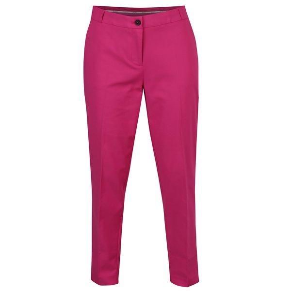 Pantaloni conici roz cu fermoar pentru femei Garcia Jeans