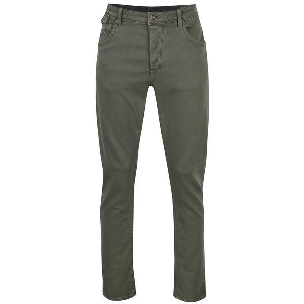 Pantaloni verzi stretch skinny barbatesti Garcia Jeans