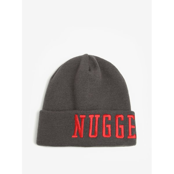 Caciula gri cu logo brodat pentru barbati - Nugget Jordan