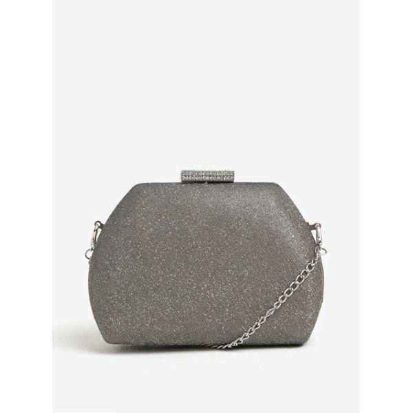 Geanta clutch argintie cu bareta detasabila Dorothy Perkins