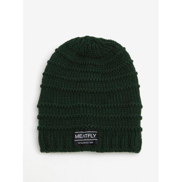 Caciula verde tricotata pentru barbati - MEATFLY Rude Beanie