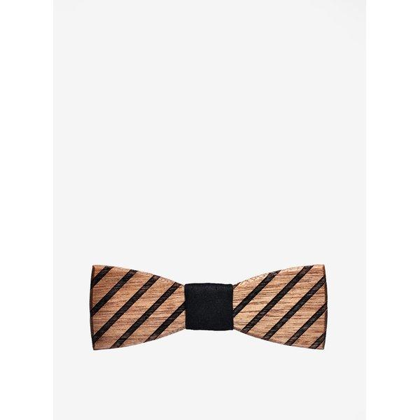Papion din lemn cu model gravat - BeWooden Buteo