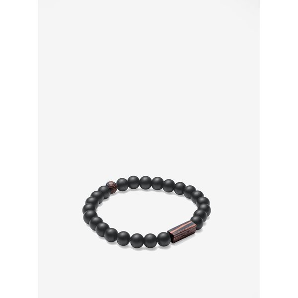 Bratara maro & negru - BeWooden Nox Wenge Bracelet