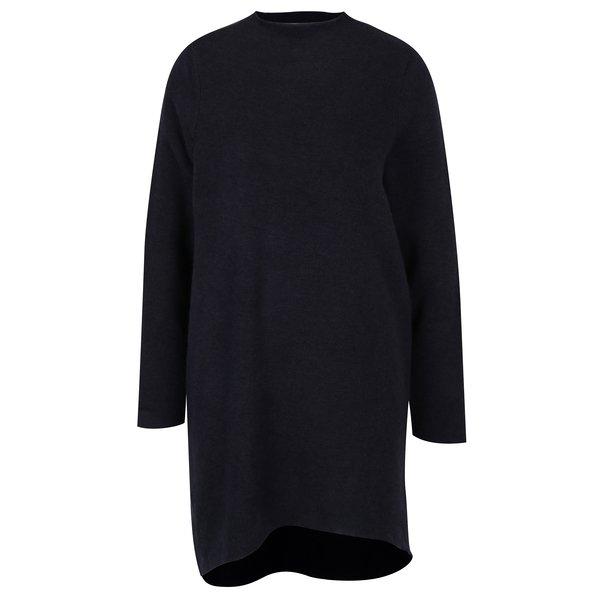 Rochie - pulover asimetrica bleumarin - VERO MODA Ylda