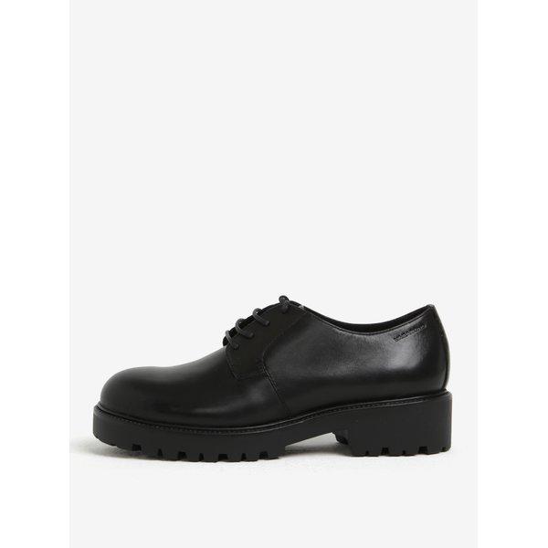 Pantofi negri din piele naturala cu talpa aderenta – Vagabond Kenova