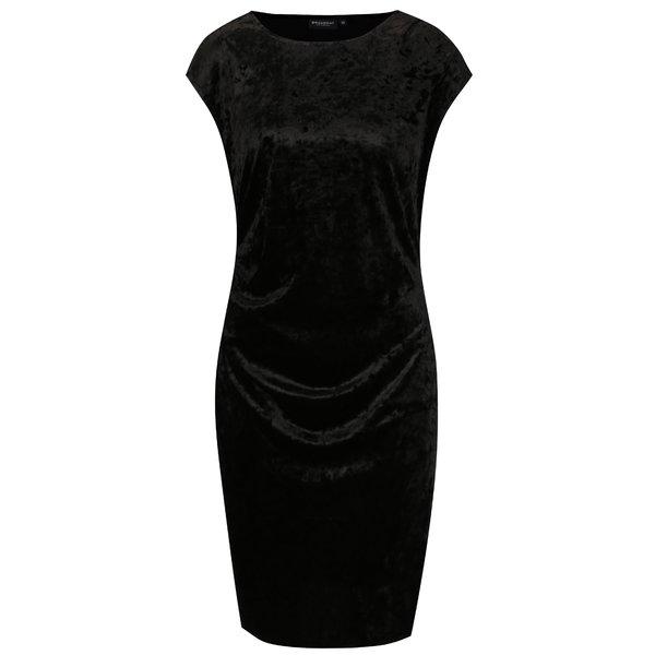 Rochie neagra din catifea - Broadway Nunzia