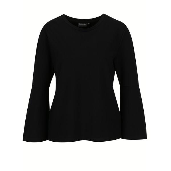 Bluza neagra cu maneci clopot – Broadway Noemy