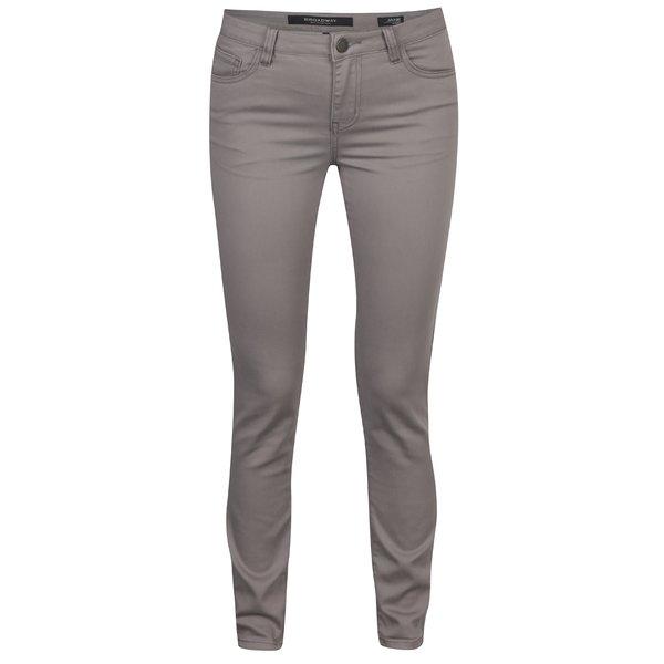 Pantaloni gri pentru femei - Broadway Jane