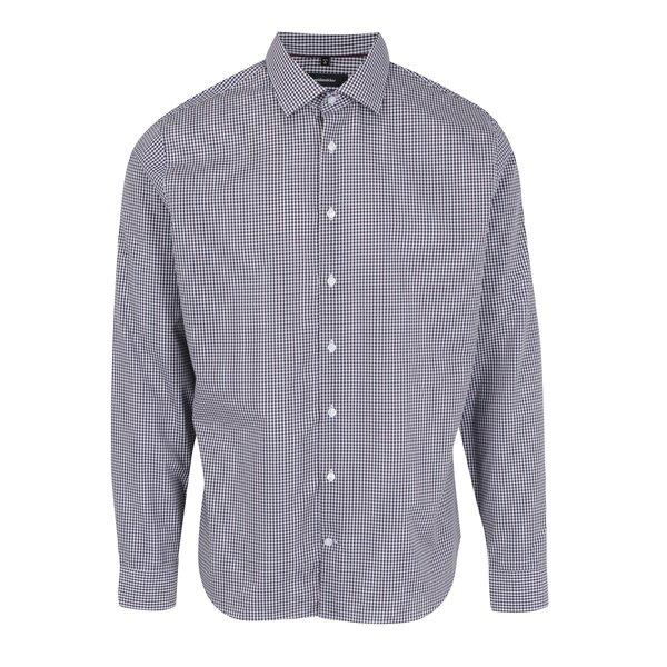 Camasa tailored fit in carouri albastru cu rosu Seidensticker