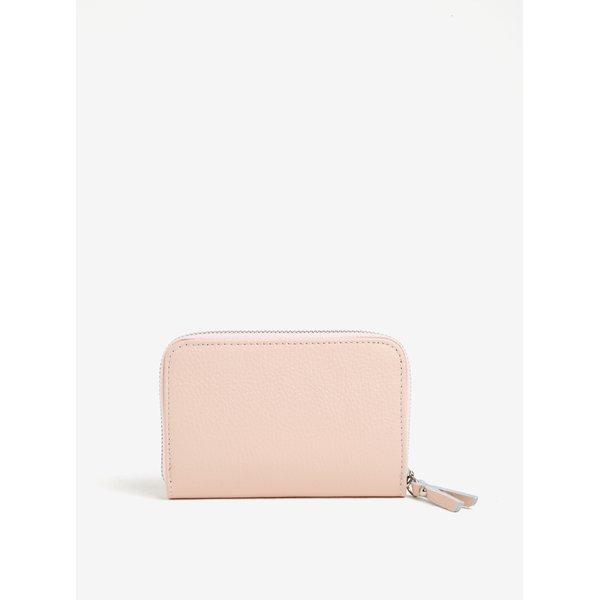 Portofel mic roz din piele naturala – ZOOT