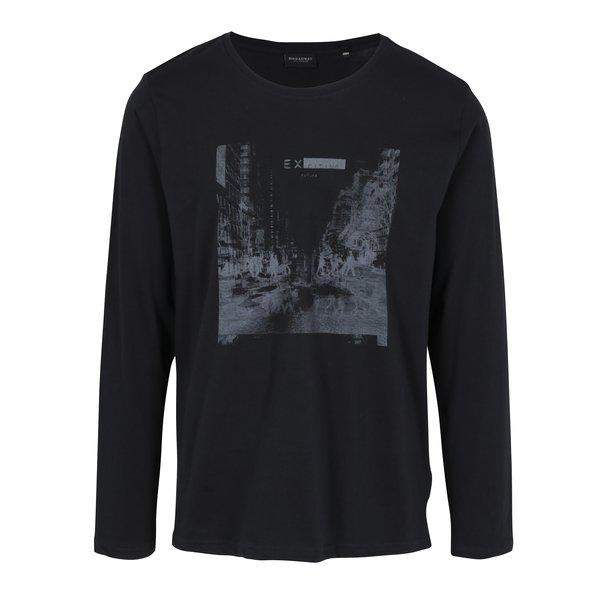 Bluza neagra cu print pentru barbati – Broadway Savage