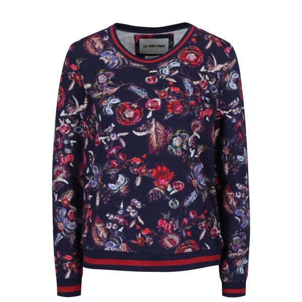 Bluza rosu&alabstru cu print - Rich & Royal