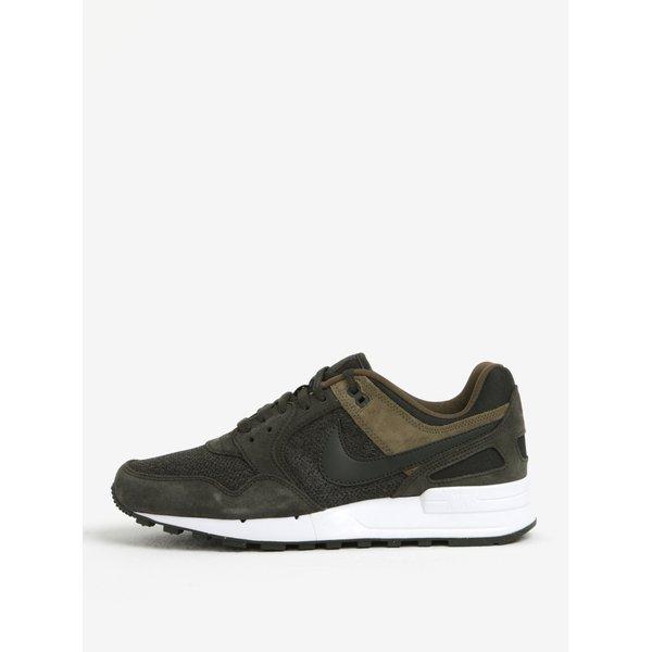 Pantofi sport kaki cu detalii din piele intoarsa pentru barbati Nike Pegasus 89