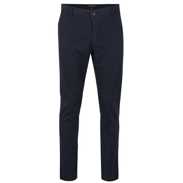 Pantaloni chino bleumarin pentru barbati Broadway Wayne
