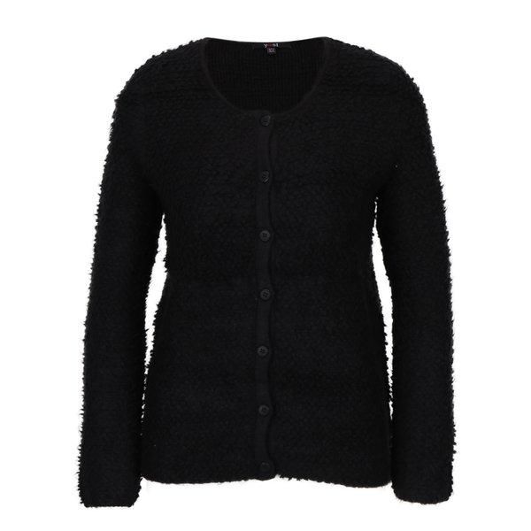 Cardigan tricotat negru – Yest
