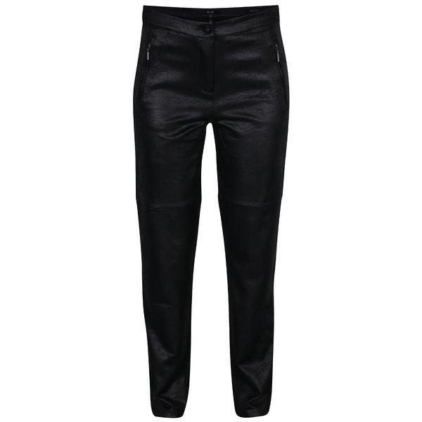 Pantaloni negri drepti cu buzunare - Yest