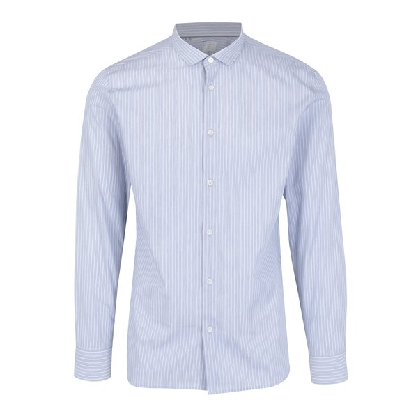 Camasa slim fit bleu&alb in dungi Selected Homme One Smart