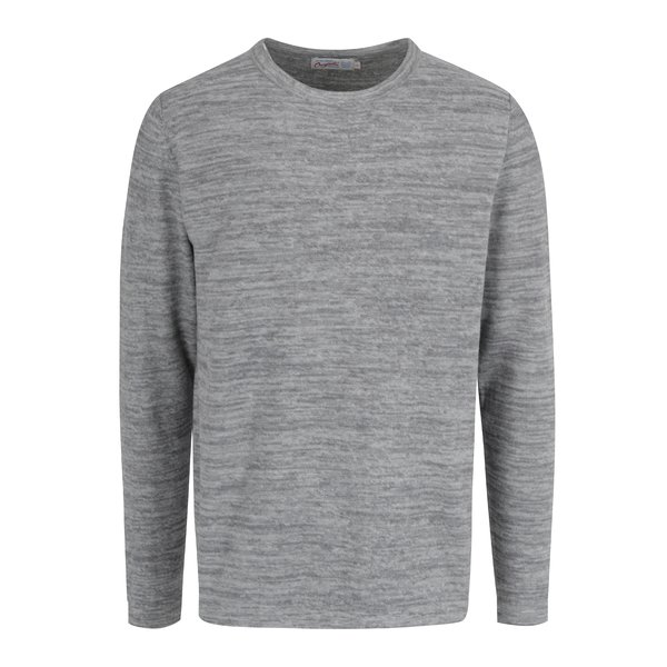Pulover subtire gri deschis melanj - Jack & Jones Originals Fargo