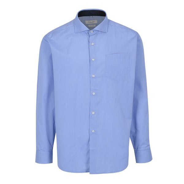 Camasa albastra cu buzunar Seven Seas