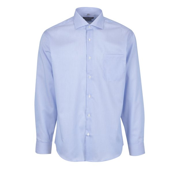 Camasa albastru&alb in dungi cu buzunar Seven Seas