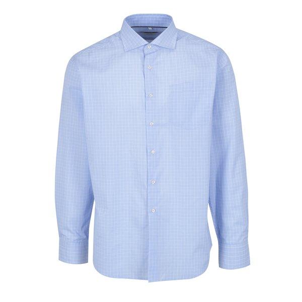 Camasa albastru deschis in carouri Seven Seas