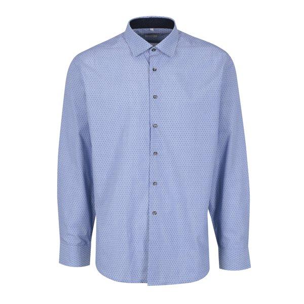 Camasa albastru deschis cu model Seven Seas
