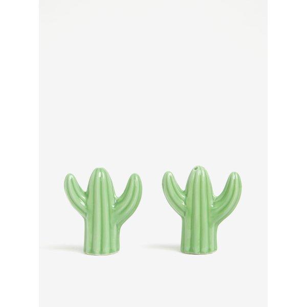 Recipiente pentru sare si piper in forma de cactusi - Sass & Belle
