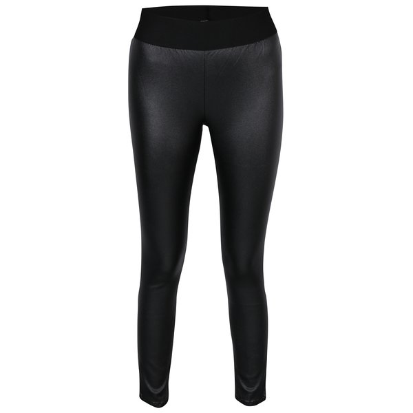 Leggings negri glossy - ONLY Simple