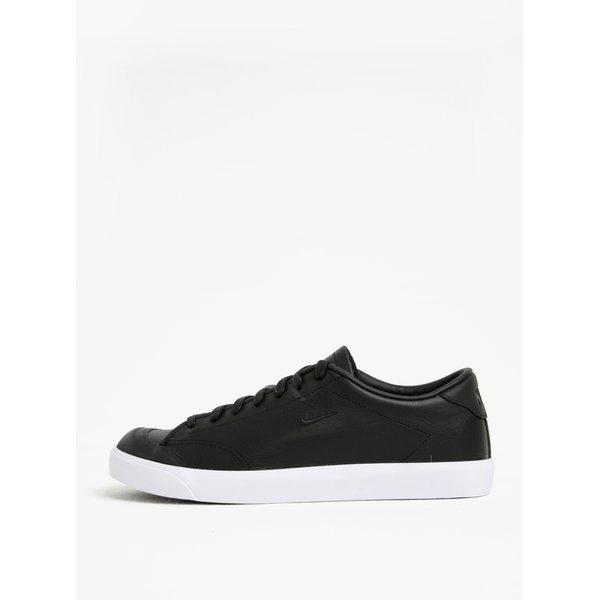 Pantofi sport negri din piele pentru barbati Nike All Court 2 Low