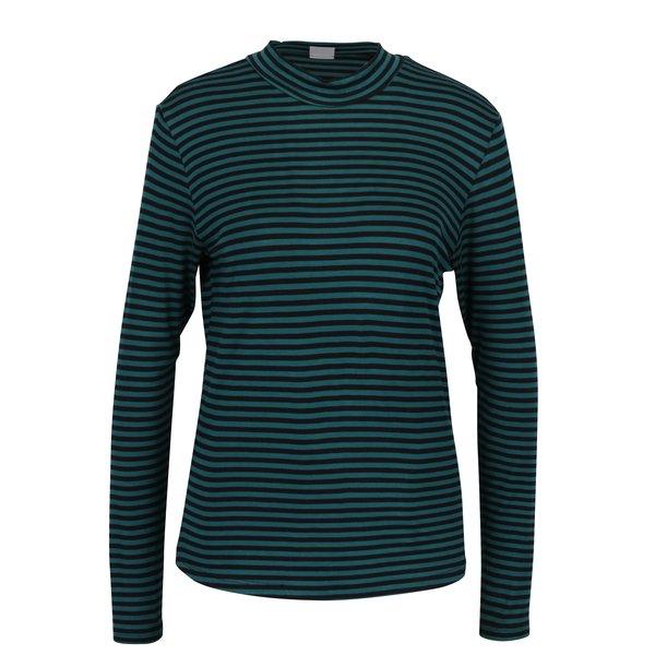 Bluza cu dungi negru & verde - Jacqueline de Yong Spirit